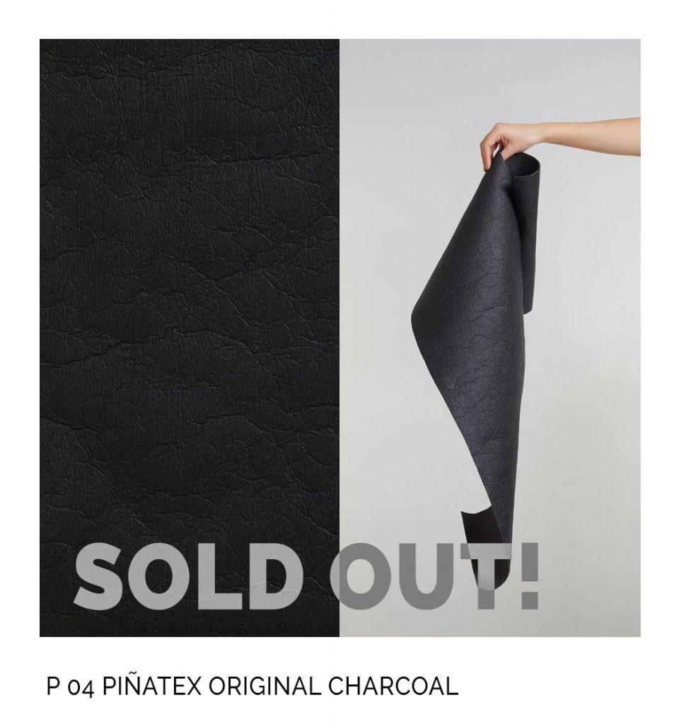 Pinatex original charcoal